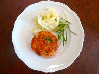 Salmon Cakes Made from Canned Salmon